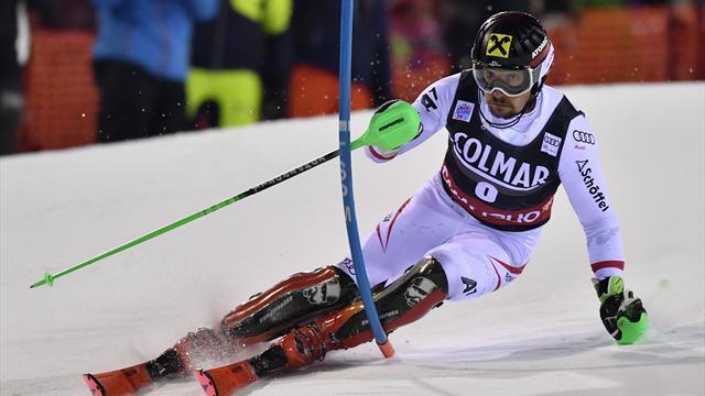 Madonna di Campiglio-Slalom (M): Hirscher s'impose d'un souffle