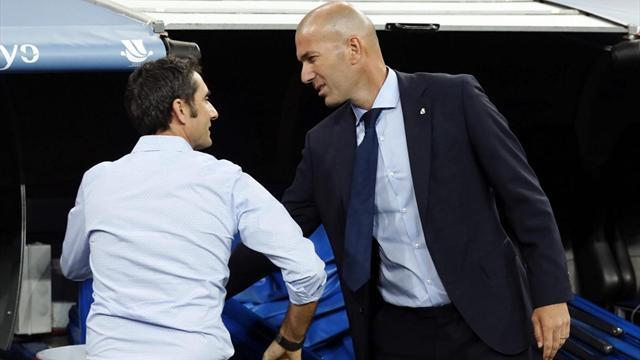 Valverde e la sua rivoluzione: ecco come il Barça ha sovrastato il Real di Zidane in soli 4 mesi