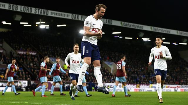 Kane voit triple et porte Tottenham à Burnley