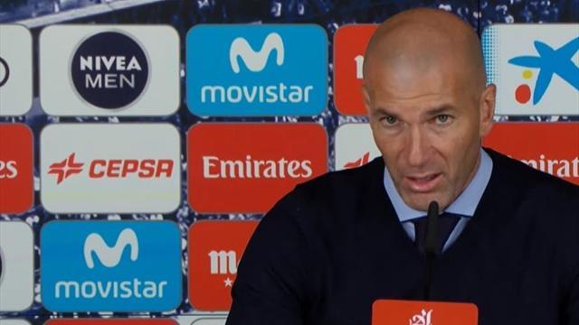 Zidane se queda con el inicio del partido ante la Real y pide solidez defensiva ante el PSG