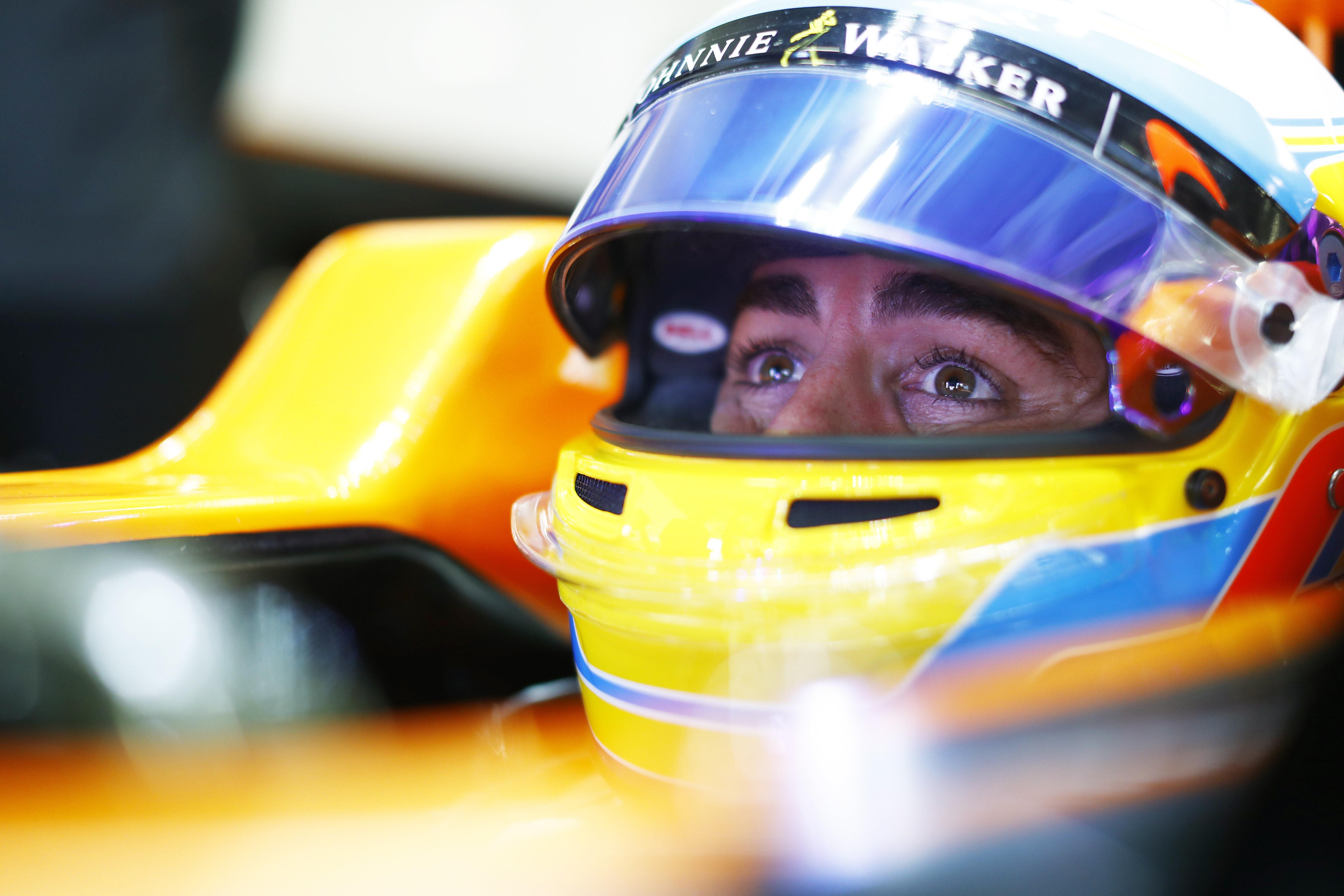 Fernando Alonso (McLaren) au Grand Prix des Etats-Unis d'Amérique 2017