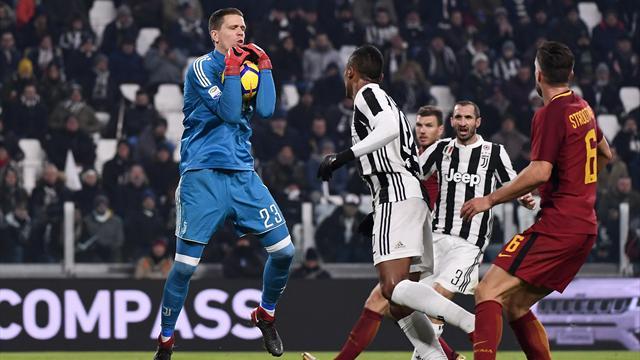 Le pagelle di Juventus-Roma 1-0: Szczesny decisivo, Schick sciagurato