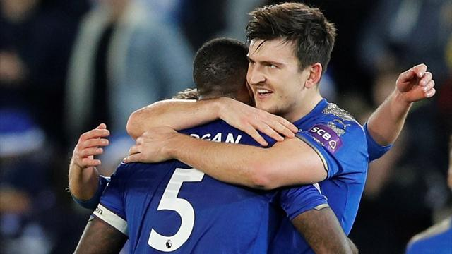 Harry Maguire scores late as Leicester City hold Manchester United for draw
