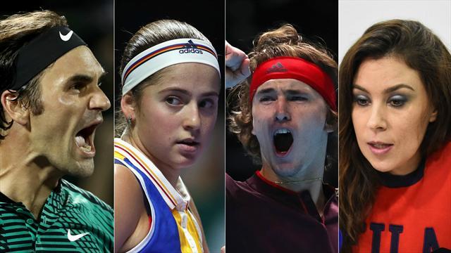 De Federer à Bartoli : les surprises qui ont rendu folle la saison 2017