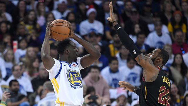 Les Golden State Warriors matent Cleveland — NBA