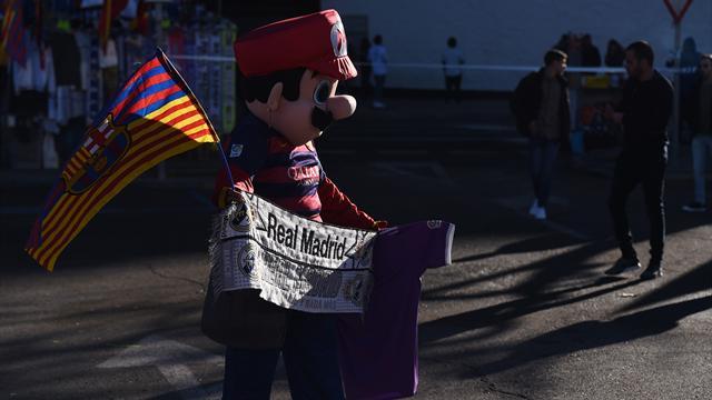 Liga, il Barcellona umilia 3-0 il Real e fa suo il Clasico