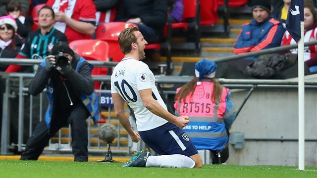 Football: Harry Kane sacré meilleur buteur en 2017 devant Messi