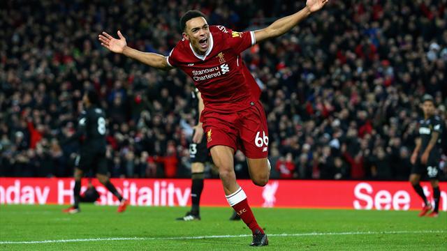 Liverpool réplique à Tottenham avec un festival