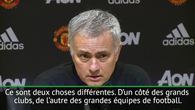 Mourinho : «Manchester City achète des défenseurs au prix des attaquants»