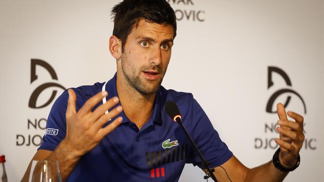 Injured Djokovic withdraws from Australian Open warm-up in Doha