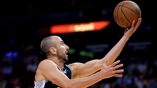 Ginobili, le grand-papa NBA donne encore la leçon