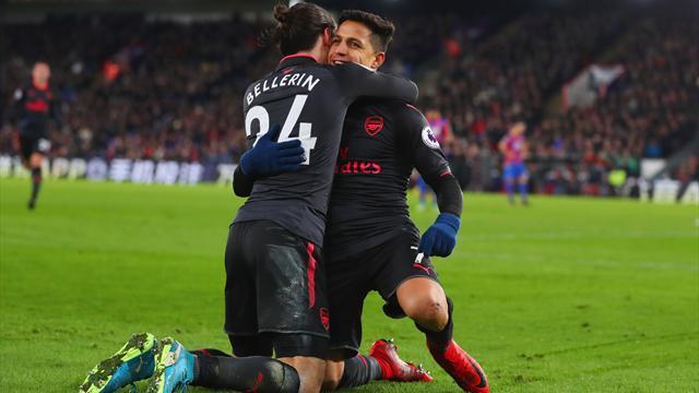 Le cadeau d'Alexis Sanchez et des Gunners à Wenger