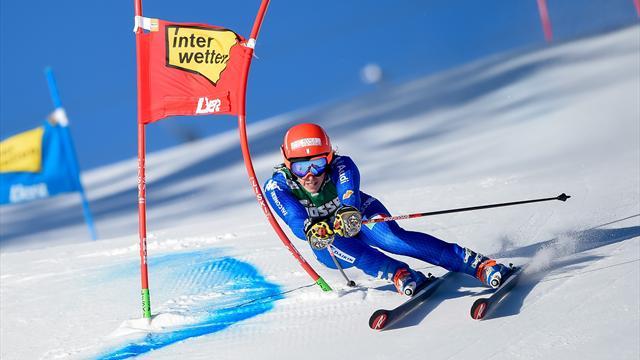 Brignone upsets Shiffrin and Rebensburg to claim Lienz victory