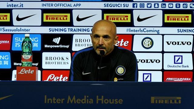 Inter-Lazio, Spalletti alla vigilia: