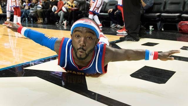 1,35m et basketteur professionnel, voici le nouveau joueur des Harlem Globetrotters
