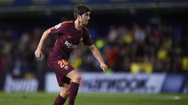 Серхи Роберто может подписать пожизненный договор с«Барселоной»