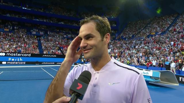 Federer : «2017, c'était une année de rêve, et une année surprise»