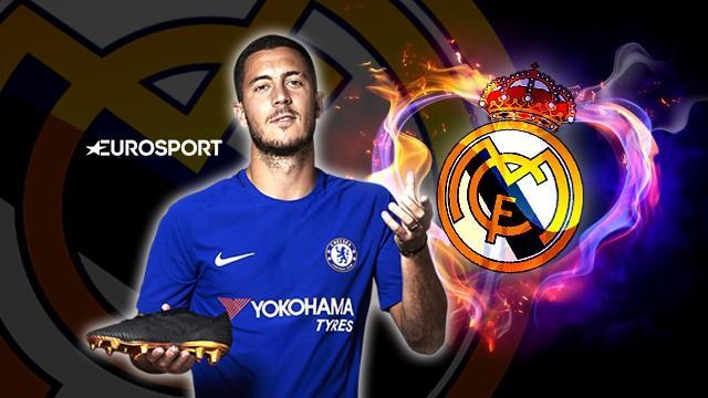 Eden Hazard, nuevo jugador del Real Madrid