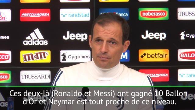 Allegri : «Il faut arrêter de comparer Dybala avec Messi ou Ronaldo»