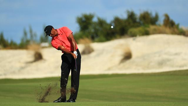 Tiger Woods starts slowly in PGA Tour comeback
