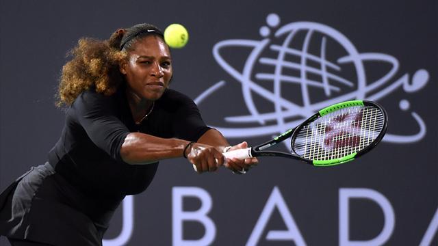 Dominée par Ostapenko, Serena manque son retour