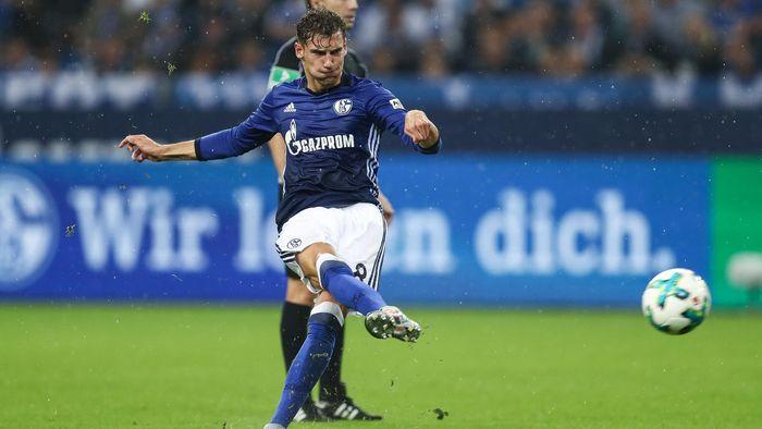 Goretzka durante un partido con el Schalke 7795894154d