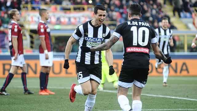 Udinese-Bologna: probabili formazioni e statistiche