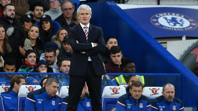 Mark Hughes storms out of press conference after Stoke lose to Newcastle