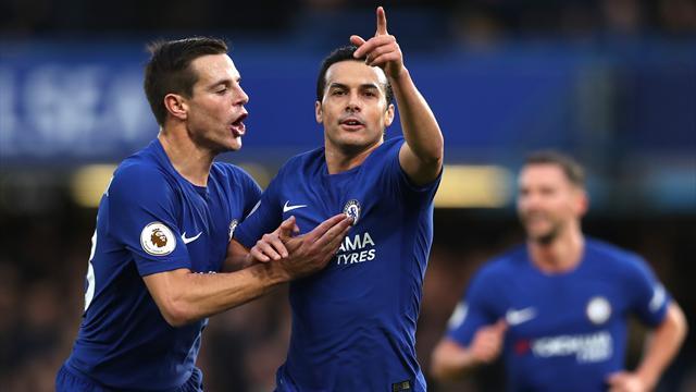 Chelsea sans pitié, Liverpool avec difficulté