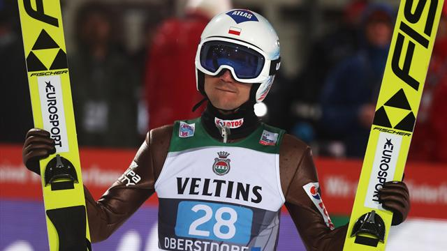 Stoch soars to opening victory in Four Hills