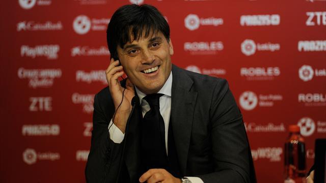 Montella : «Je veux continuer de gagner en tant qu'entraîneur»
