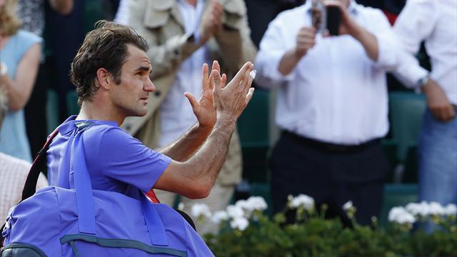 Федерер: «Не знаю, выступлю ли еще когда-либо на «Ролан Гаррос»