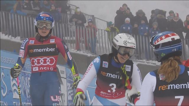 Shiffrin invincible en slalom parallèle — Ski alpin