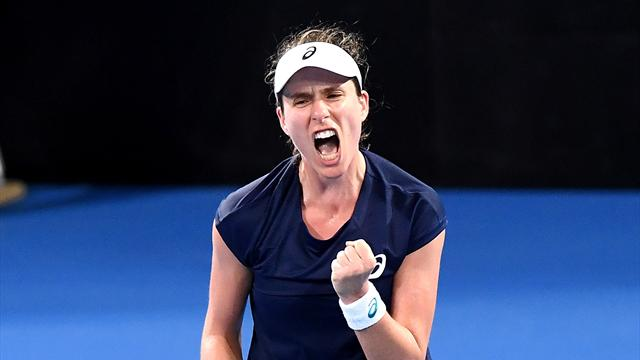 Konta and Watson lead Great Britain Fed Cup charge