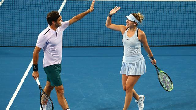Trois sur trois pour Federer à la Hopman Cup — Tennis