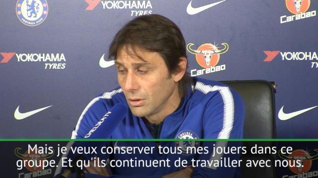 Conte à propos de David Luiz : «Je veux conserver tous mes joueurs»