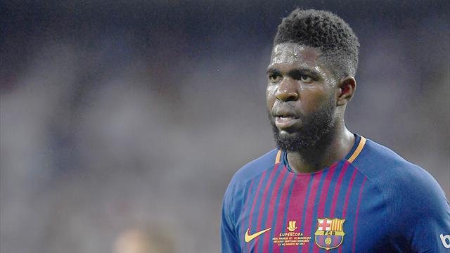 Umtiti de retour dans le groupe — FC Barcelone