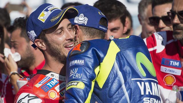 """Dovizioso: """"Rossi è unico: se avessi 40 anni e avessi vinto 9 Mondiali non sarei ancora in MotoGP"""""""