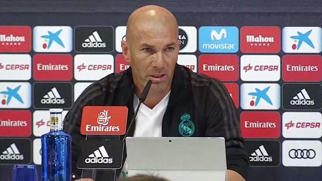 """Zidane: """"Estoy cansado de escuchar que estamos mal; vende más lo negativo"""""""