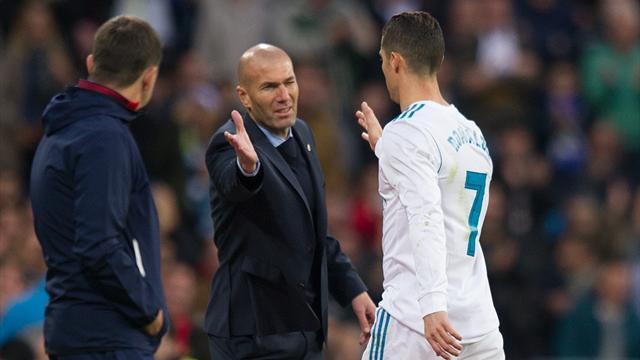 Zidane sur la sortie de Ronaldo : «Je dois faire des changements…»