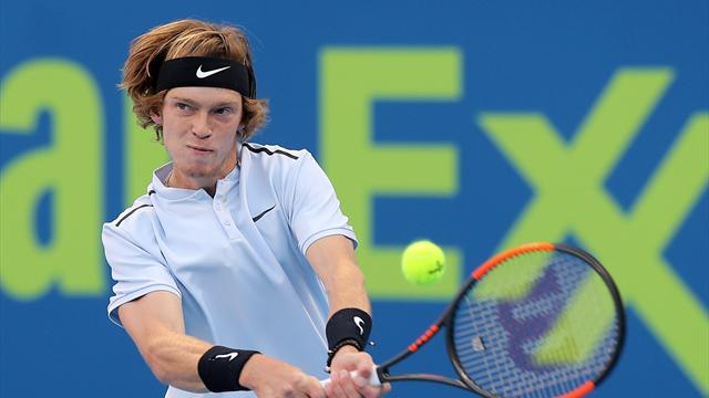 Рублёв победил Феррера настарте Australian Open