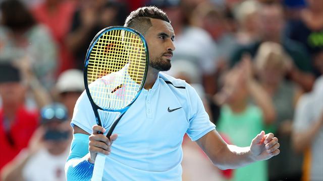 Неизвестный очень поверил в Кирьоса и поставил на его победу на Australian Open 33 тысячи евро