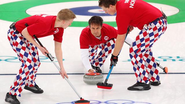 Zo kwamen de Noorse curlingmannen aan hun hippe broeken
