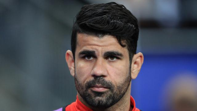 Costa scores five minutes into Atletico Madrid return, then immediately hurts himself