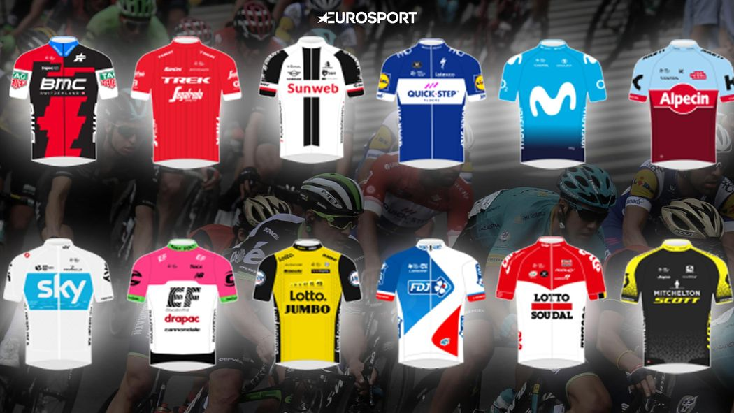 Blazin  Saddles  2018 WorldTour new kits rated and reviewed - Cycling -  Eurosport UK b4bbb54de