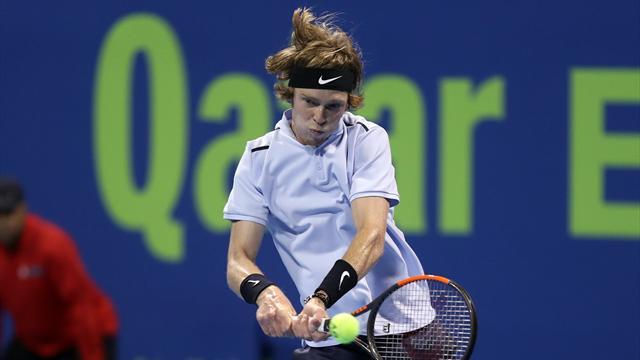 Рублев вышел в полуфинал турнира в Дохе