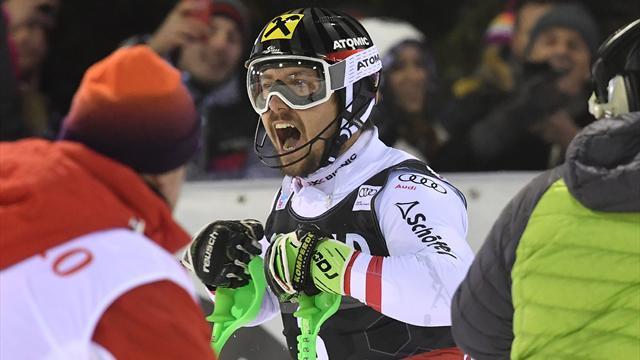 Cinquantième victoire pour Marcel Hirscher en Coupe du monde de ski alpin