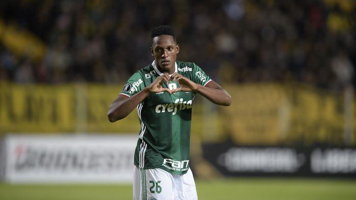 Yerry Mina con el Palmeiras e78ffc4c7f3