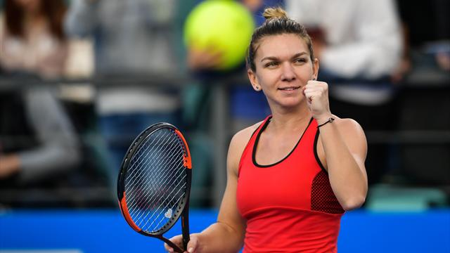 Ranked Halep to face Siniakova in Shenzhen Open final