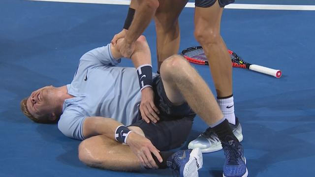 ATP Brisbane: La espectacular lección de deportividad de Dimitrov tras la lesión de Edmund